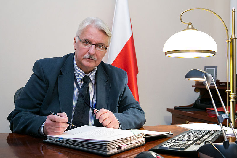 Witold Waszczykowski, Polens udenrigsminister. Foto: Det polske udenrigsministerium