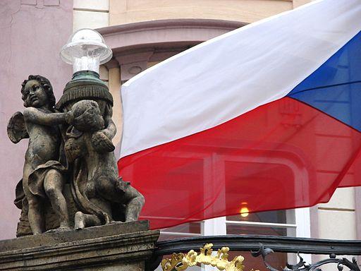 Tjekkisk flag Foto- Adam Jones, Ph.D.