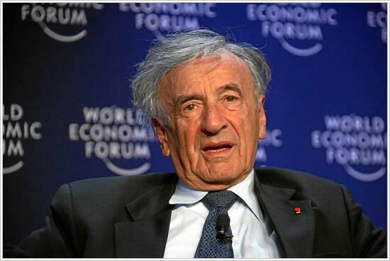 Elie Wiesel Foto: World Economic Forum