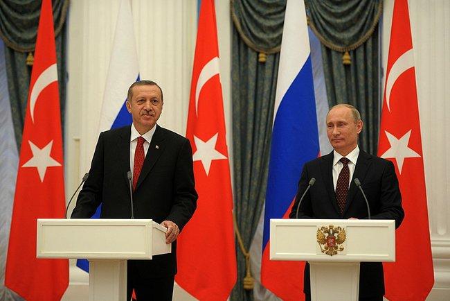 Putin og Erdogan under et møde i 2012 Foto: Kremlin.ru