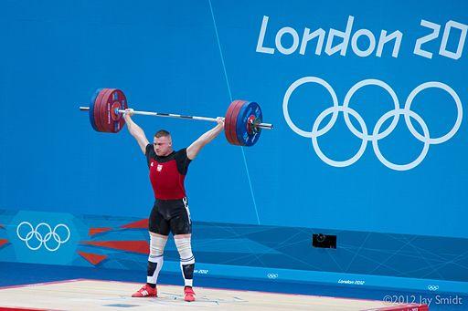 Zielinski ved sidste OL i London Foto- Jay the Expat