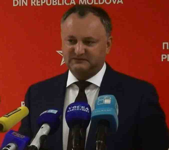 Igor Dodon Foto: Accent TV 2015