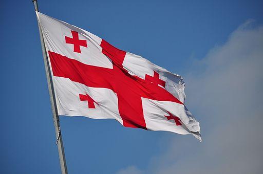 Georgisk flag Foto: Frank Miller