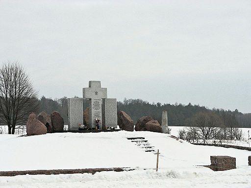 Huta Penicka monumentet før det blev vandaliseret Foto: Stako