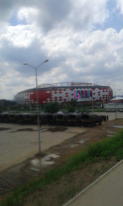 Spartak Moskvas hjemmebane,, Otkritie Arena. Foto: Toke Theilade