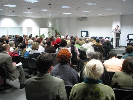 Et Jehovas Vidner møde i Rusland Foto: http://jhwww.narod.ru/sakhalin.html