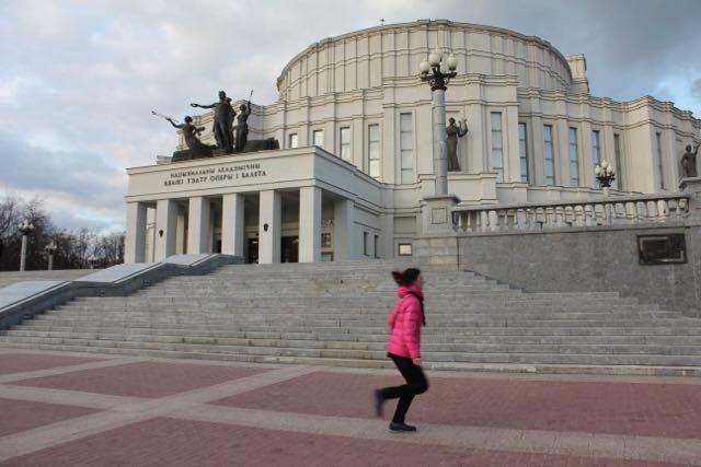Minsk Opera Foto: Ota Tiefenböck