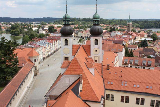 tjekkiet byer