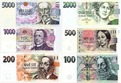 valuta i tjekkiet
